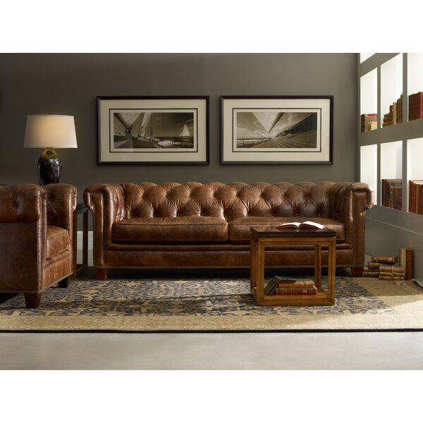 Leather Configurable Living Room Set By Hooker Furniture Wonderful