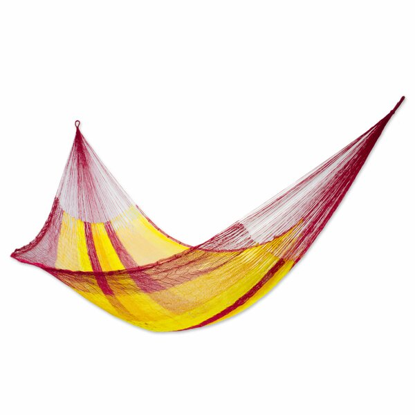 Trinity Single Nylon Camping Hammock by Freeport Park
