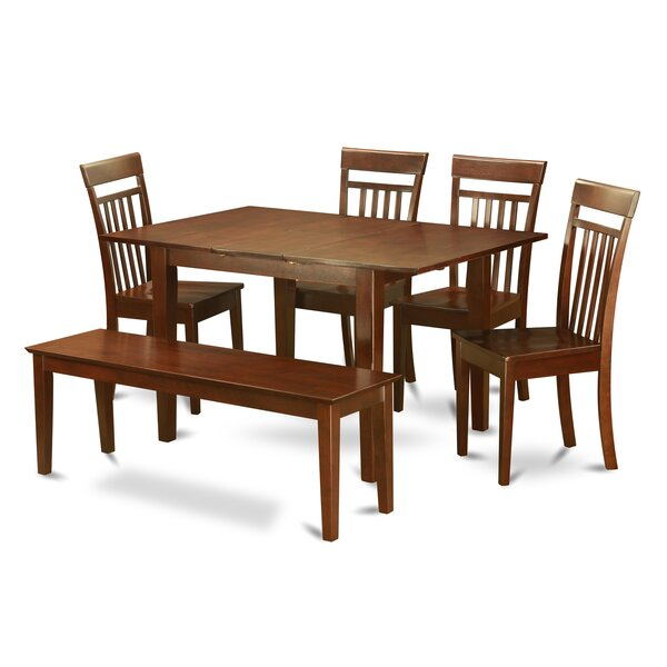 Lorelai 6 Piece Dining Set By Alcott Hill Cool