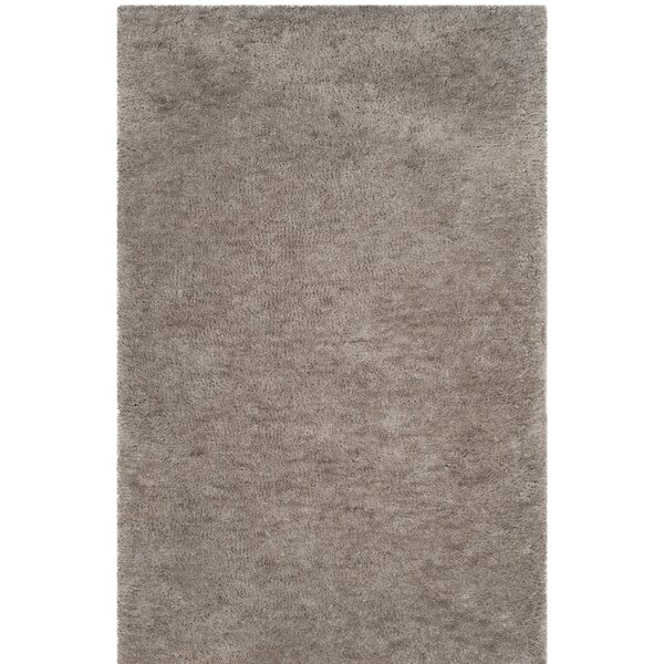 Detweiler Hand-Tufted Gray Area Rug by Charlton Home