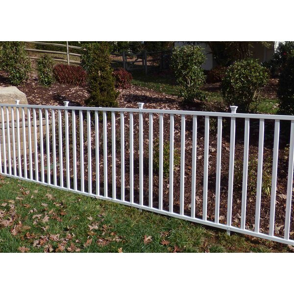 6 ft. H x 7.5 ft. W Birkdale Semi-Permanent Garden Fence Panel by Zippity Outdoor Products