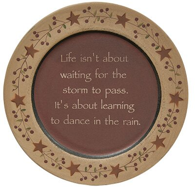 Dance in the Rain Plate by The Hearthside Collecti