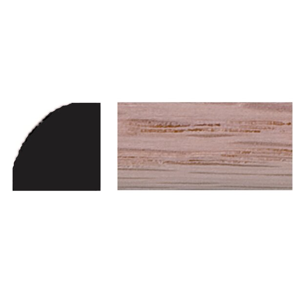 3/8 in. x 3/8 in. x 4 ft. Oak Quarter Round Moulding by Manor House