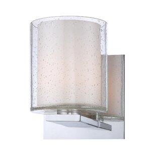 Best Reviews Condell 1-Light Bath Sconce By Latitude Run