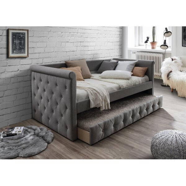 Raily Twin Daybed with Trundle by Rosdorf Park