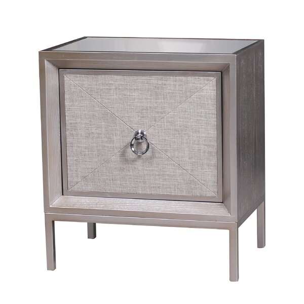 Alas 1 Drawer Accent Cabinet by Rosdorf Park