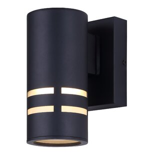 Read Reviews Pelayo LED 1-Light Outdoor Sconce By Brayden Studio