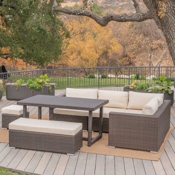 Coast 11 Piece Rattan Sectional Seating Group With Cushions By Sol 72 Outdoor by Sol 72 Outdoor Find