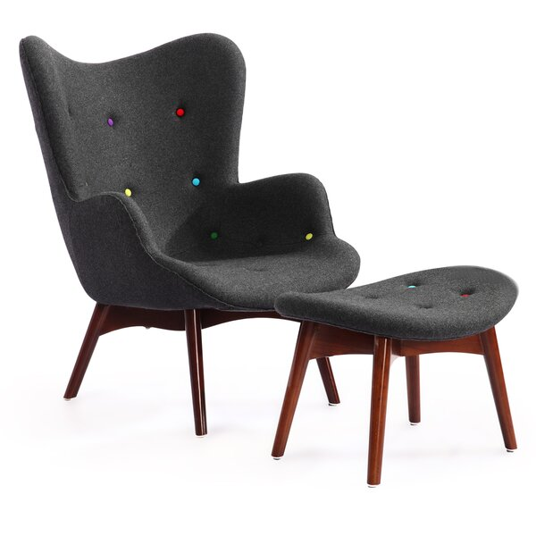 Contour Wingback Chair by Kardiel