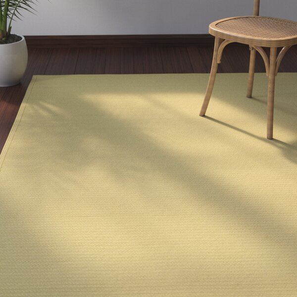 Malounta Maize Indoor/Outdoor Area Rug by Bay Isle Home