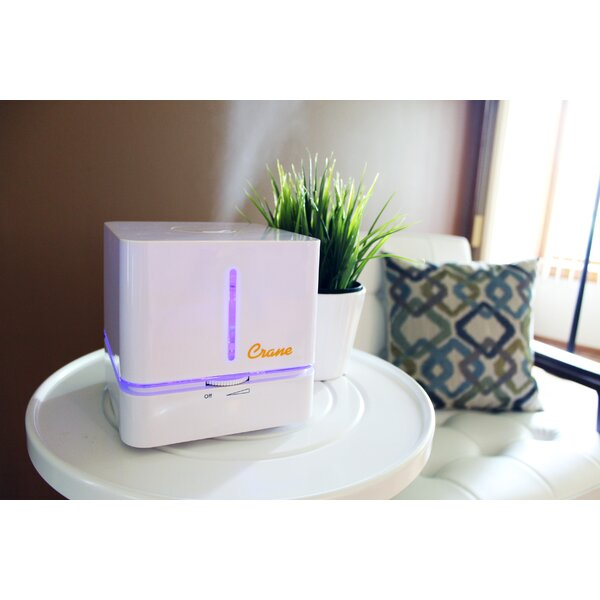 0.5 Gal. Cool Mist Ultrasonic Console Humidifier by Crane USA