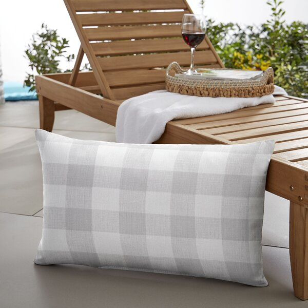 Beddows Buffalo Plaid Indoor/Outdoor Lumbar Pillow by Mozaic Company