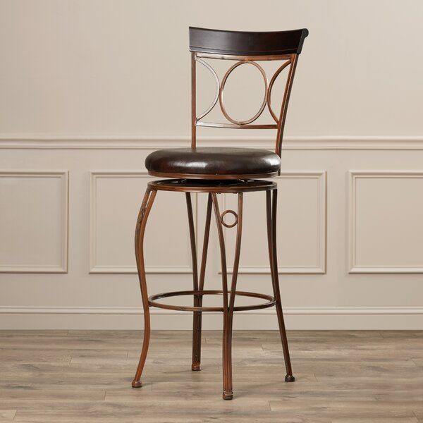 Rosalia 30 Swivel Bar Stool by World Menagerie