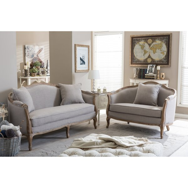 Celine 2 Piece Living Room Set by Beachcrest Home