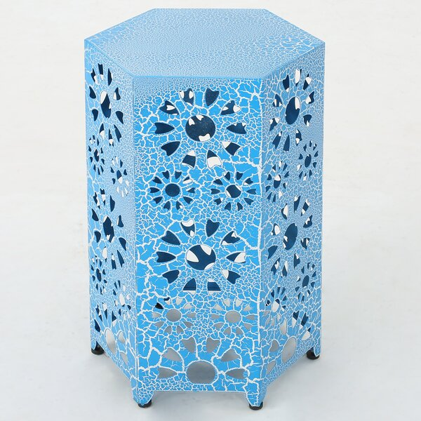 Crepeau End Table by Bungalow Rose
