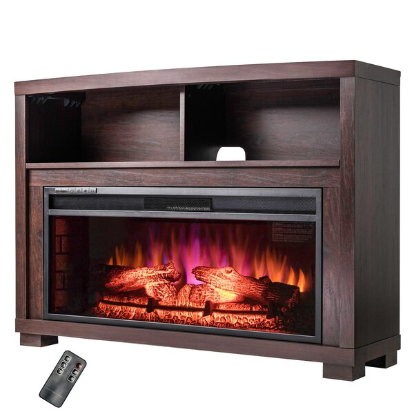 Wood Mantel Electric Fireplace by AKDY
