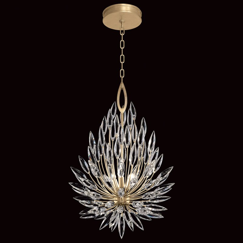 Fine Art Lamps Lily Buds 3 Light