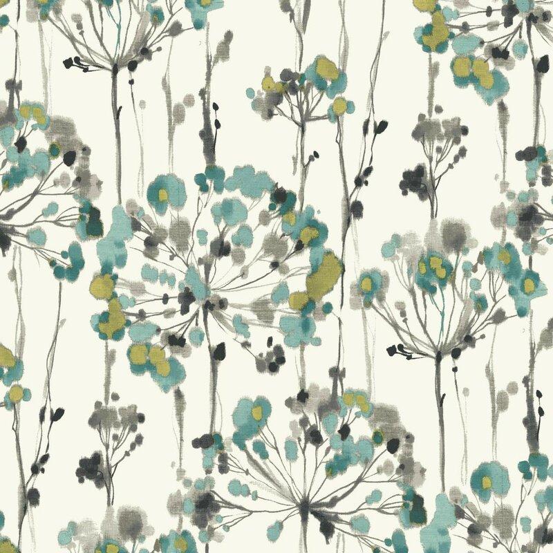 Artisan 27 X Flourish Floral Wallpaper Roll