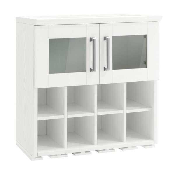 Home Bar Wall Wine Rack Cabinet - 21-inch by NewAge Products NewAge Products