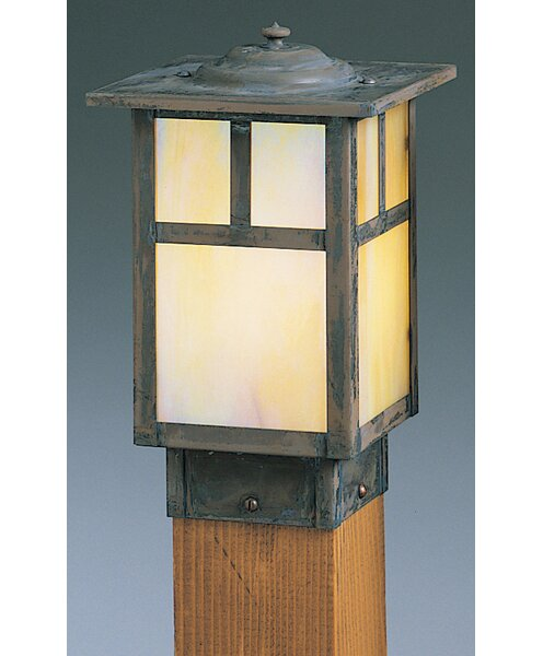 Mission Outdoor 1-Light Lantern Head by Arroyo Craftsman