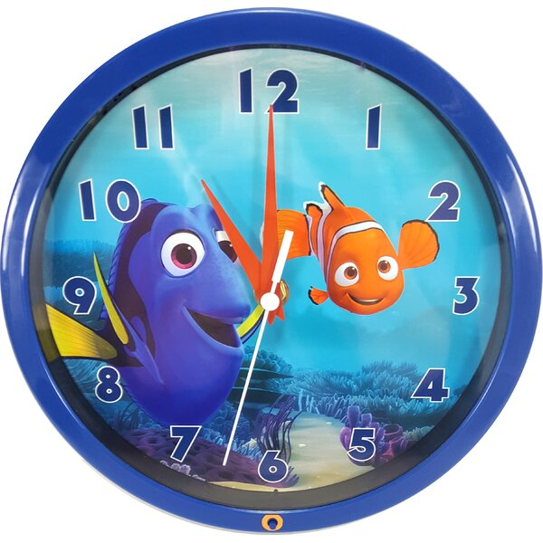 Finding Dory Musical 7 Wall Clock by Ashton Sutton