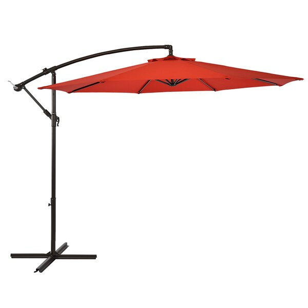 Leda 10' Cantilever Umbrella by Symple Stuff