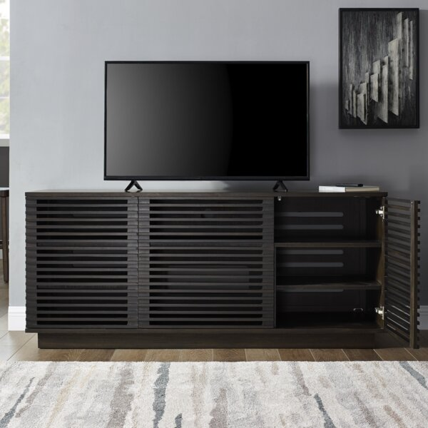Rowan Solid Wood TV Stand For TVs Up To 70