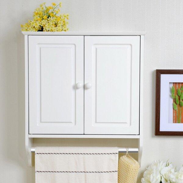 Tieba 18.8'' W x 21.5'' H x 6.3'' D Solid Wood Bathroom Storage Furniture Set