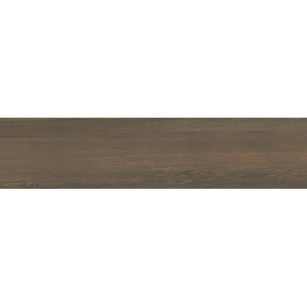 Vanderbilt 6 x 24 Porcelain Wood Look Tile in Umber by Parvatile