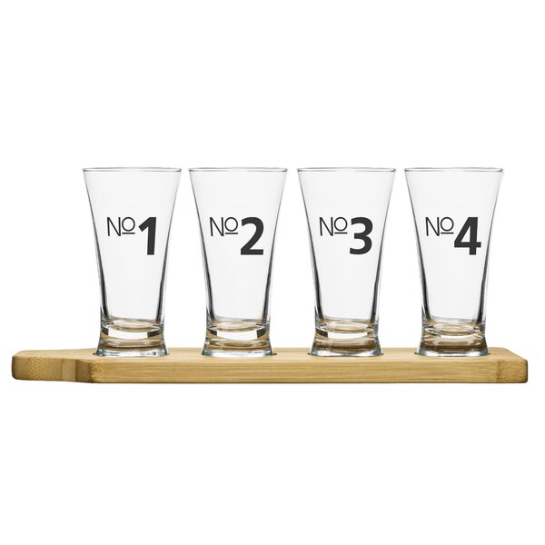 4 Piece Bar Beer Tasting Set by Sagaform