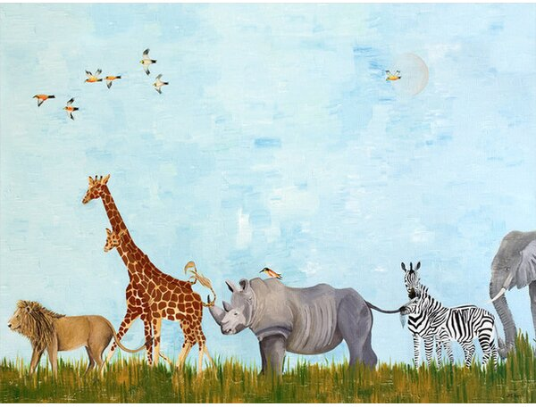 Wild Things Canvas Art by Oopsy Daisy