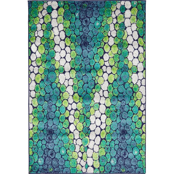 Sidney Light Green Area Rug by Wrought Studio