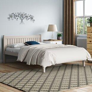 Lovely Cream Bed Frame | Wayfair.co.uk