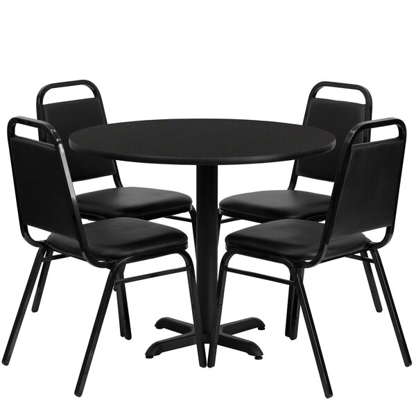 Ahlam 5 Piece Dining Set by Red Barrel Studio