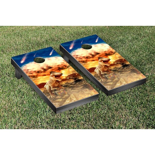 Dinogeddon Cornhole Game Set by Victory Tailgate