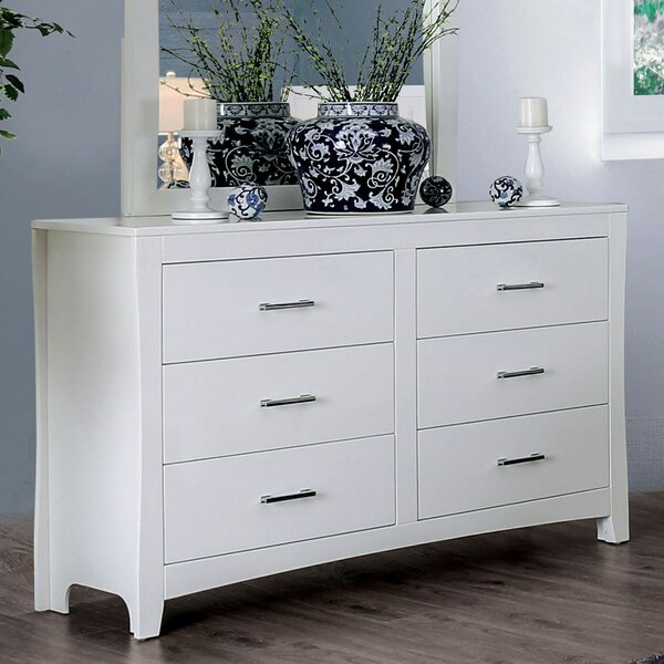Merope 6 Drawer Double Dresser by Winston Porter
