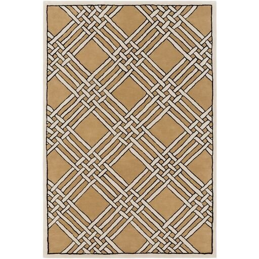 Intermezzo Hand-Tufted Geometric Area Rug by Elle Decor