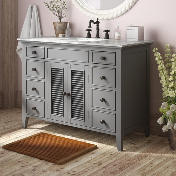 Grovetown 49 Single Bathroom Vanity Set by Laurel Foundry Modern Farmhouse