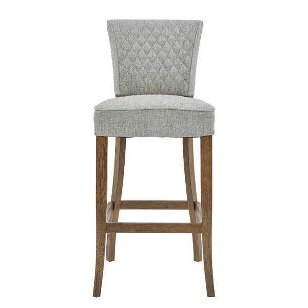 Highline Quilted 31 Bar Stool by Gracie OaksHighline Quilted 31 Bar Stool by Gracie Oaks