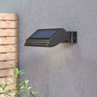 Battery Operated   Solar Powered Outdoor Wall Lighting You ll Love ... b8bf371a0