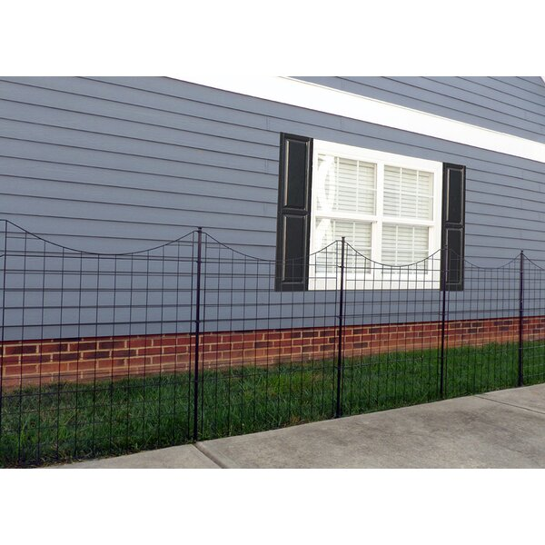 3.5 ft. H x 3 ft. W Garden Fence Panel (Set of 5) by Zippity Outdoor Products