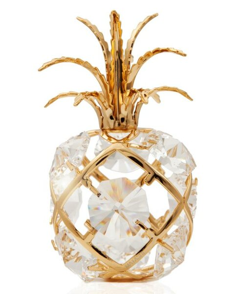 Mini Pineapple Ornament by Matashi Crystal