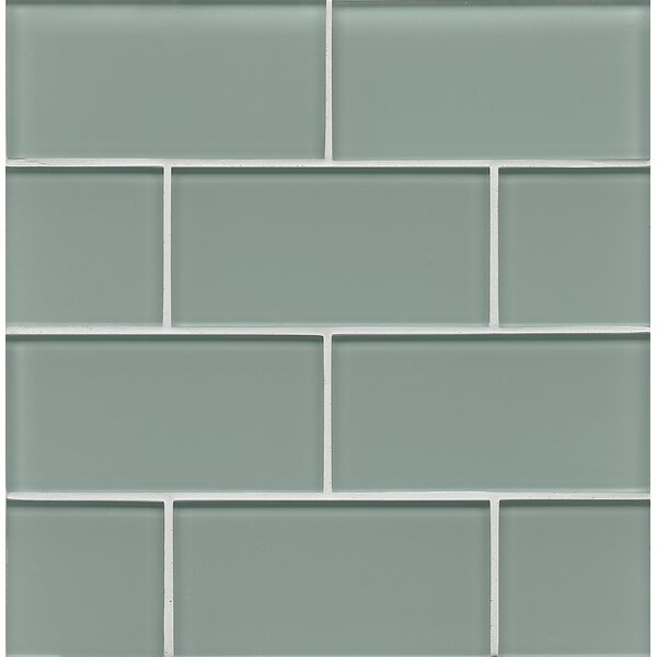 Harbor Glass Gloss Field Tile in Tide by Grayson Martin