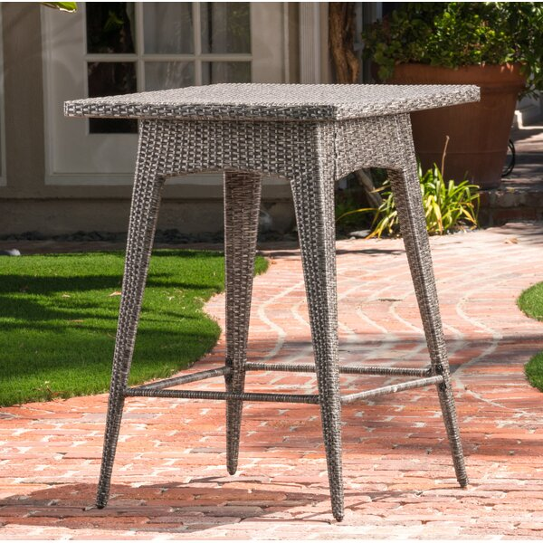 Furst Wicker Bar Table by Wade Logan
