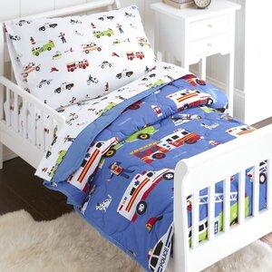 Heroes 4 Piece Toddler Bedding Set