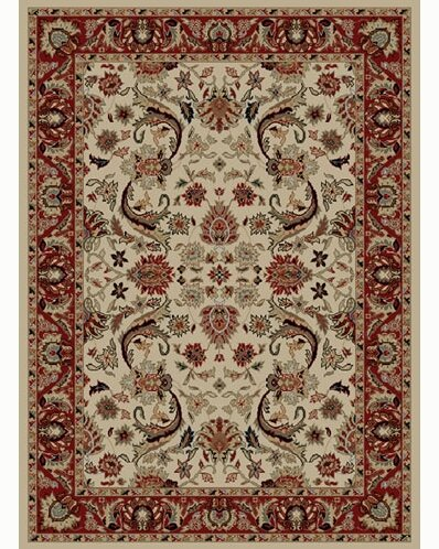 Ankara Sultanabad Ivory Rug by Threadbind