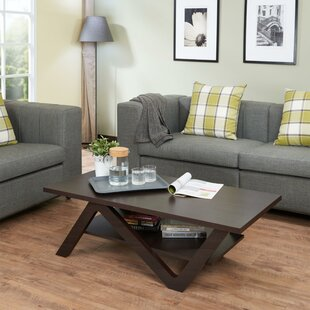 Hallum Coffee Table with Tray Top
