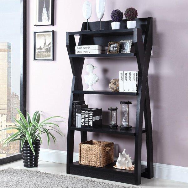 Hans Wooden Ladder Bookcase by Latitude Run