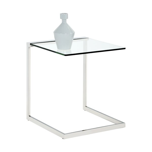Ikon Leighton End Table By Sunpan Modern