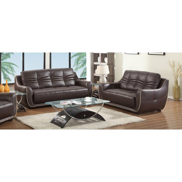 Aubree 2 Piece Living Room Set (Set of 2) by Orren Ellis